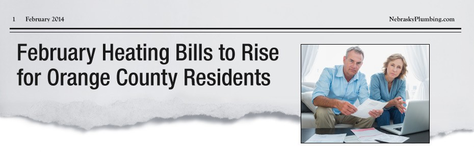 February Heating Bills to Rise for Orange County Residents