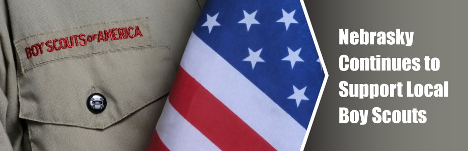 Nebrasky Supports Local Boy Scouts