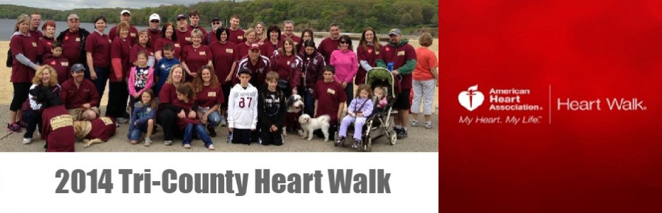 2014 Tri County Heart Walk